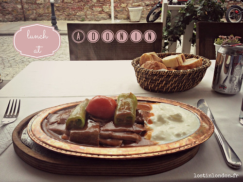 un week-end à istanbul food