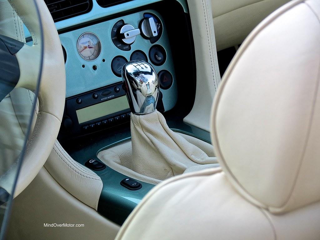 Aston Martin DB AR1 Zagato shift knob