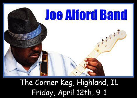 Joe Alford Band 4-12-13