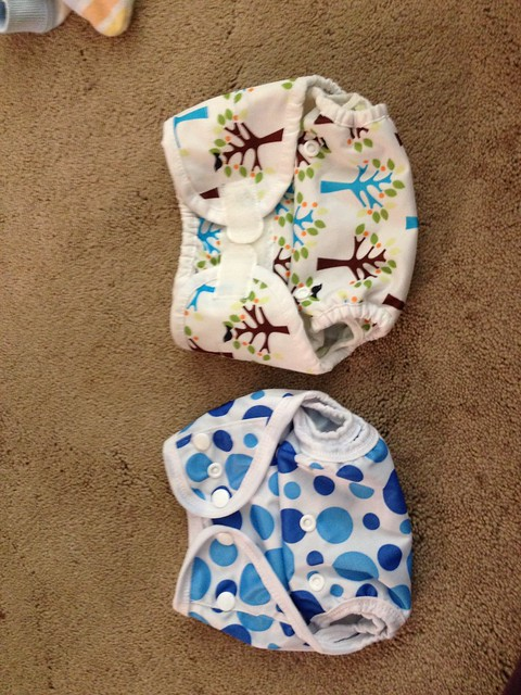 Assunta Store Tiny Cover Action Shots  Cloth Diapers