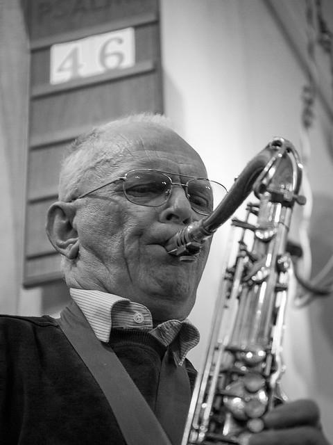 The saxophonist 3