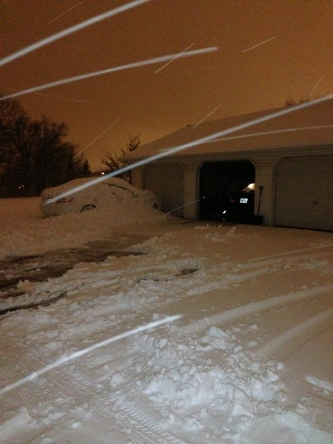 Where the car was stuck