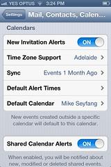 Def calendar Gmail iPhone