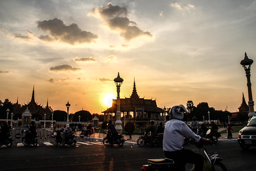 Khmer Sunset by Traveling Jack