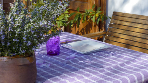 Lilac Tablescape