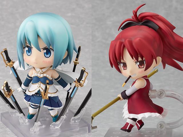 Nendoroid Miki Sayaka and Sakura Kyouko