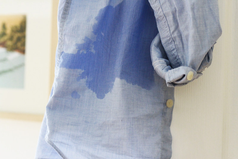 grease stain, undone