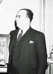 National Negro Congress leader John P. Davis: 1940 ca.