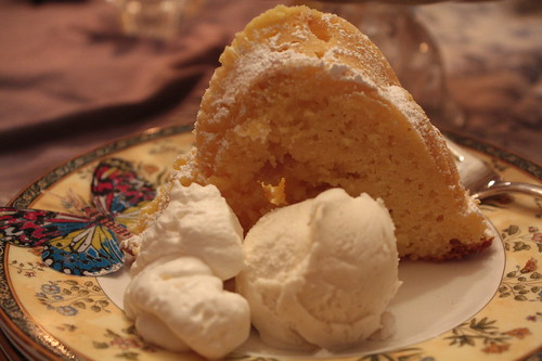 Lemon Ginger Bundt Cake