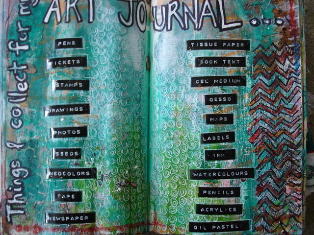 Things I collect for my Art Journal