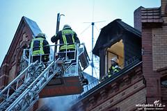 Dachstuhlbrand Westend 26.03.13