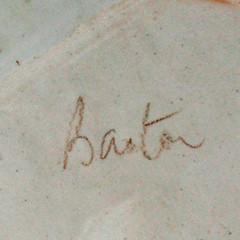 Beryl Barton. Platter. Mark