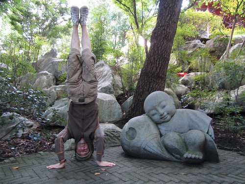 27. chinese gardens headstand