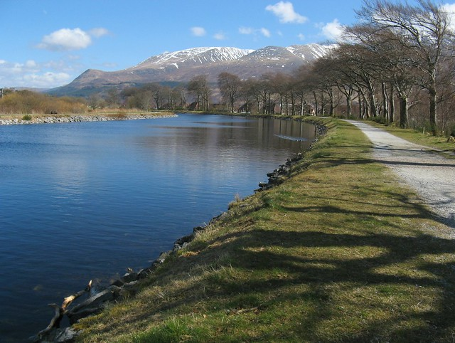 Caledonian Canal run: Corpach to Loch Lochy