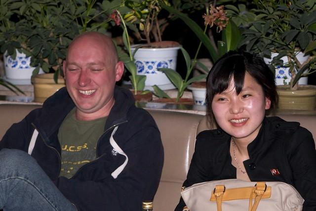 Simon and Ms Han