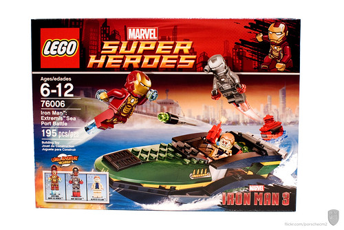 76007 Iron Man: Extremis Sea Port Battle