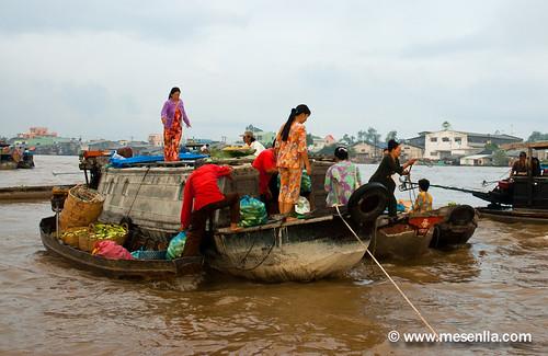 Mercat flotant de Can Tho