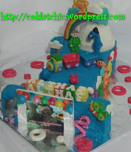 Cake angka 1 baby TV