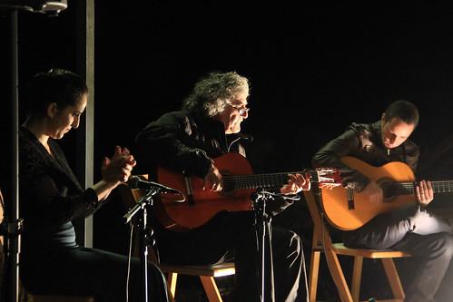 Flamenco guitarist Baldi Olier and dancer Yael Tuchfeld