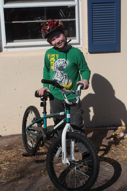 Clark & His New Bike