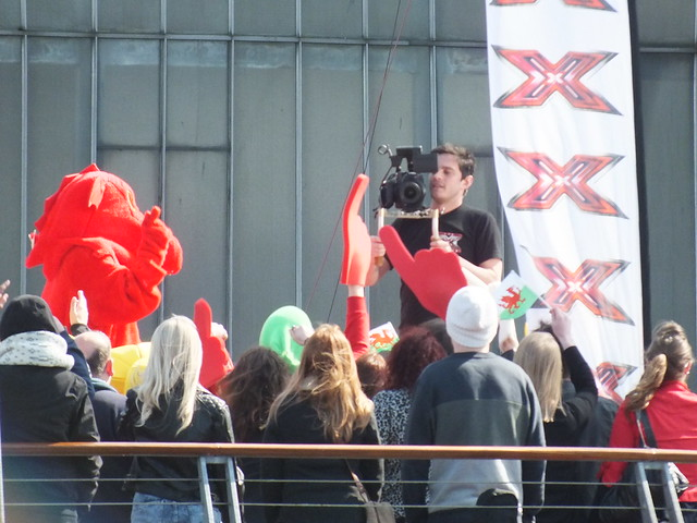 XFactor Auditions Cardiff