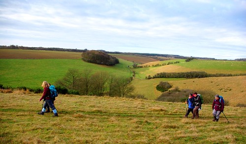 20121202-12_Coventry CHA Walkers - Bourton Downs - Cotswolds by gary.hadden