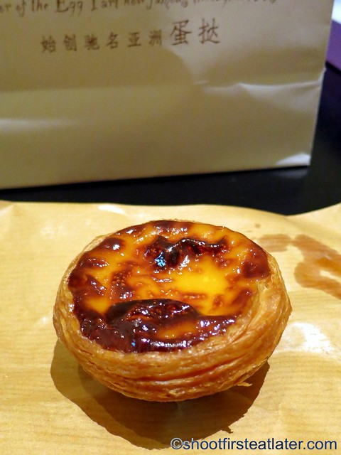 Lord Stow's Portugese egg tart MOP$8