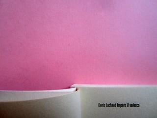 Denis Lachaud, Imparo il tedesco. 66THAND2ND 2013. Progetto grafico: Silvana Amatao, Marta B Dau. Alla cop.: disegno di Julia Binfield. Pagine 8 e 9 (part.), 1