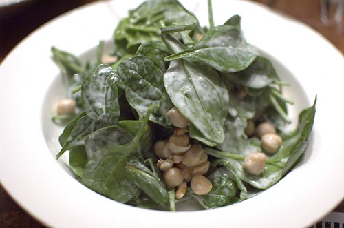 Chickpea, mint & yoghurt salad