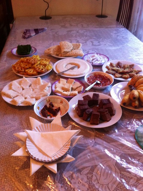 Sir Lanka New Year sweets