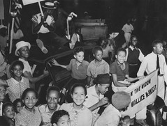 Kids Swarm Widow's Car During Police Brutality Protest: 1938
