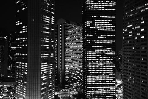 Skyscrapers by hidesax