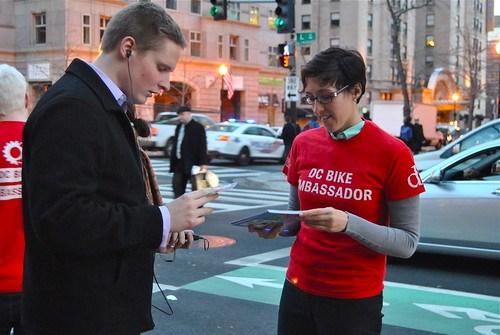 L Street Cycletrack Outreach