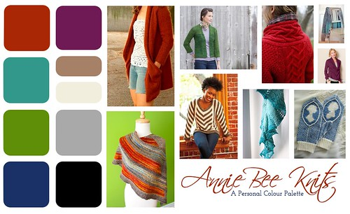 Annie Bee's Colour Palette