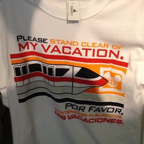 モノレールのアナウンスがTシャツに。