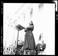Marian Anderson at the Lincoln Memorial: 1952 # 2