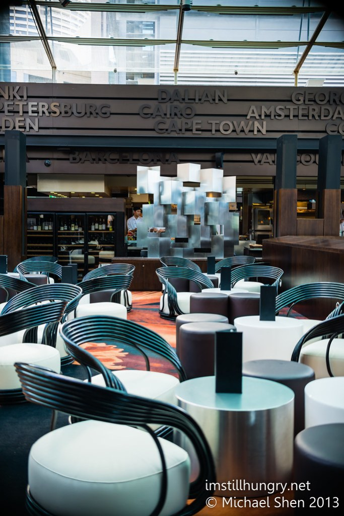 Cafe Sydney interior