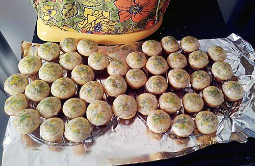 King Cake muffins