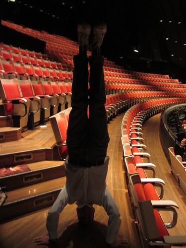 29. sydney opera house headstand