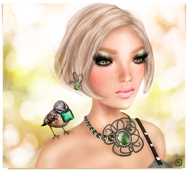 Sandy Emerald.