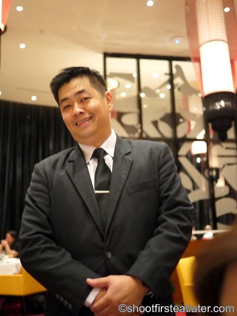 Red Lantern @ Solaire- Richard Hong, restaurant manager