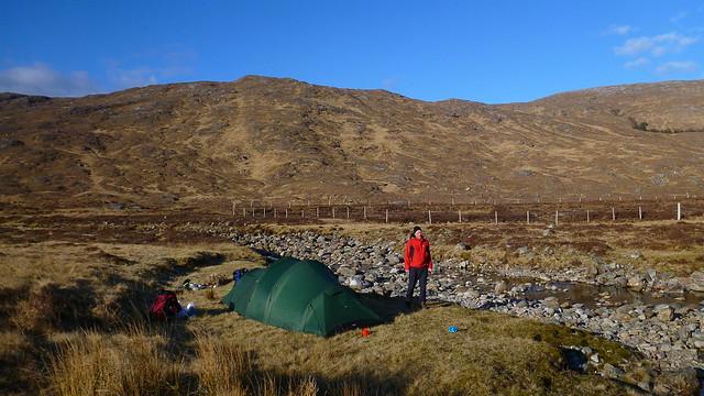 Glen Scaddle, Gleann an Lochain Duibh,