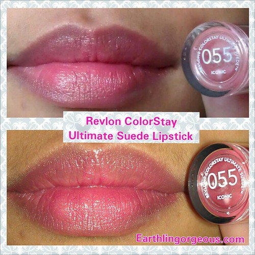 Revlon ColorStay Ultimate Suede Lipstick  in Iconic 055