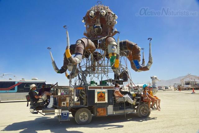 naturist 0097 Burning Man 2012, Black Rock City, NV, USA
