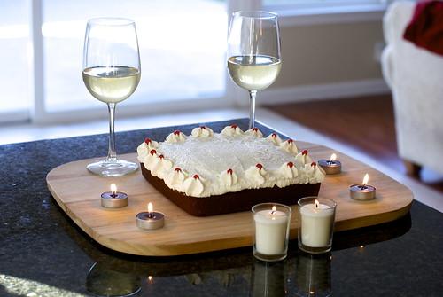 A delightful dessert for lovers