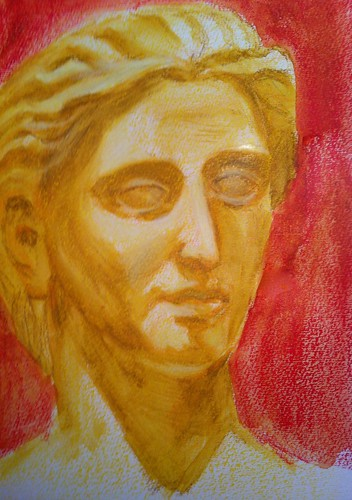 Marble Bust by husdant