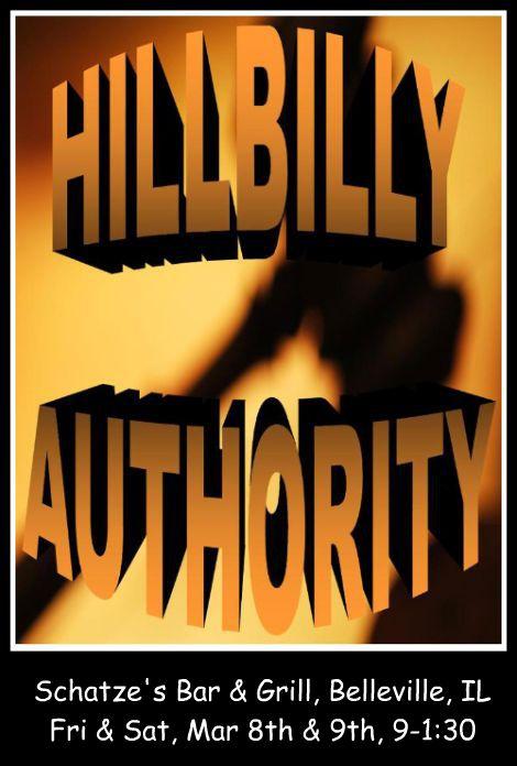 Hillbilly Authority 3-8, 3-9-13