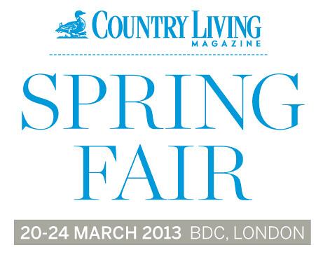 Country Living Magazine Spring Fair 2013 header