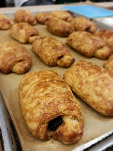 chocolate filled croissant by pipsyq