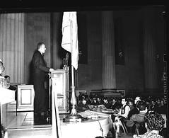 A. Phillip Randolph Speaks at 1940 Negro Congress Convention